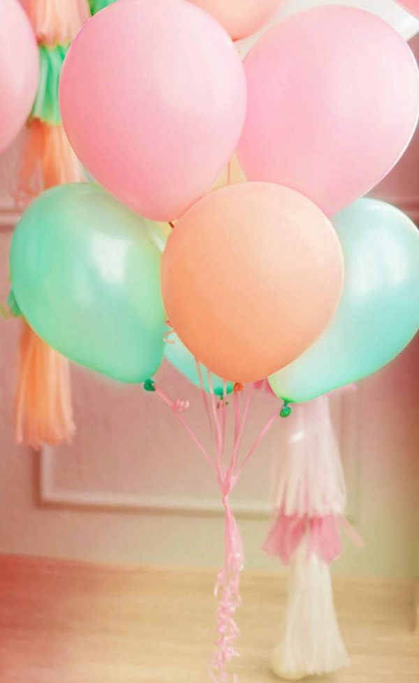 globos baby shower shabby chic