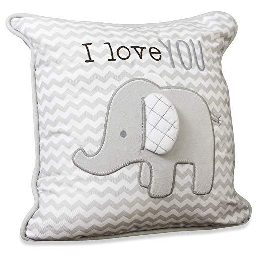 almohada elefante gris habitacion bebe