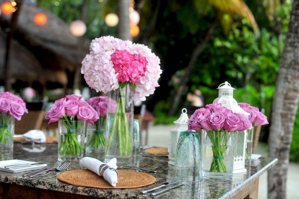 flores baby shower decoracion