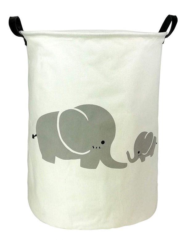 cesta de lavanderia iamgen de elefante