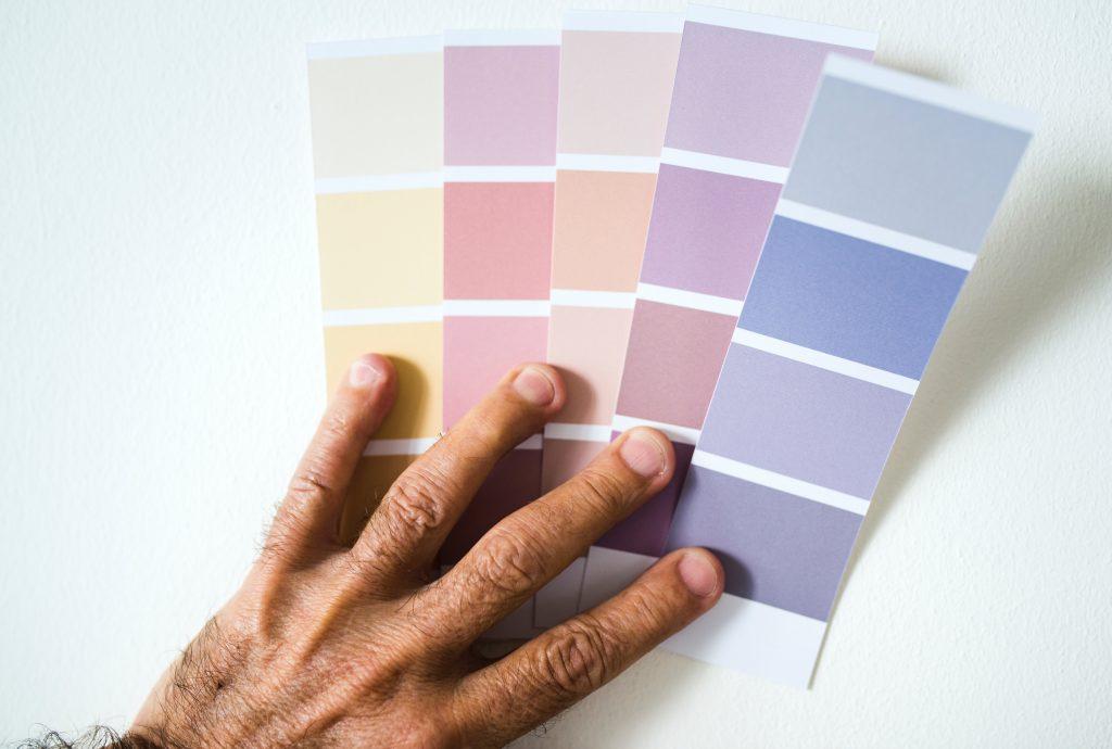 paleta de colores para decorar habitacion de bebe
