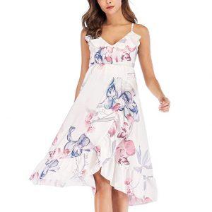 vestido materno a la rodilla