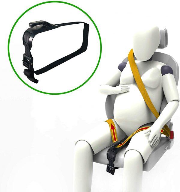 ajustador cinturón de seguridad materno para automovil