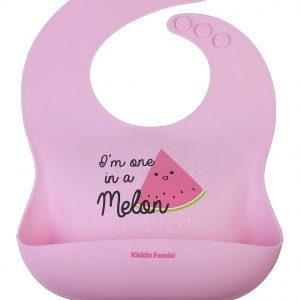 babero de silicona para bebe