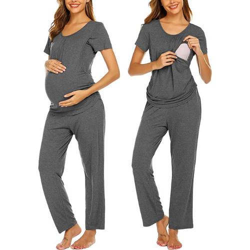 Ekouaer - Pijama de maternidad y lactancia Amazon